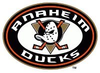 Anaheim Ducks -NHL hockey